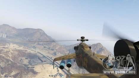 GTA 5 Mi 24 sexta captura de pantalla