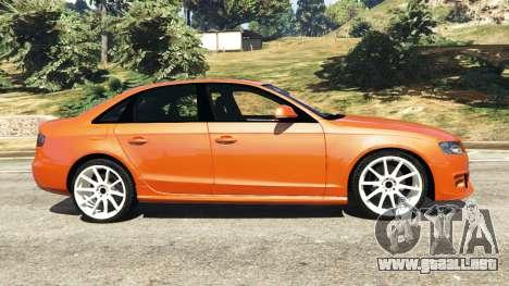 GTA 5 Audi S4 vista lateral izquierda