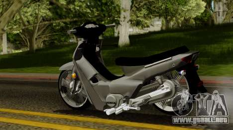 Honda Wave Tuning para GTA San Andreas left