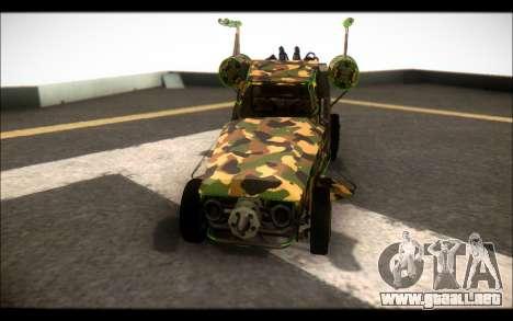 Camo Space Docker para la visión correcta GTA San Andreas