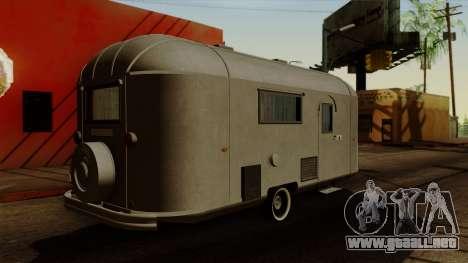 Camper Trailer 1954 para GTA San Andreas left