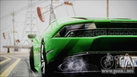TASTY ENBSeries 0.248 para GTA San Andreas sucesivamente de pantalla