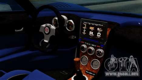 Saleen S7 para la visión correcta GTA San Andreas