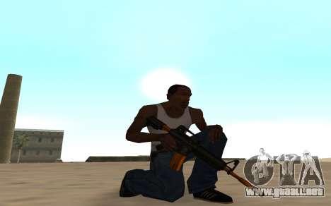 Nitro Weapon Pack para GTA San Andreas tercera pantalla