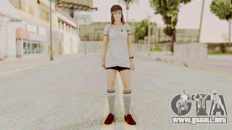 DOA 5 Hitomi Soccer para GTA San Andreas segunda pantalla