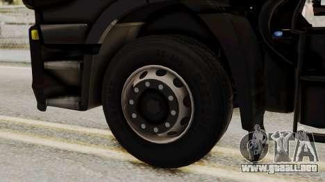Iveco Truck from ETS 2 v2 para GTA San Andreas vista posterior izquierda