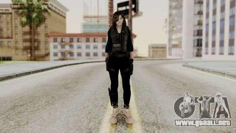 Christy Battle Suit 2 (Resident Evil) para GTA San Andreas segunda pantalla