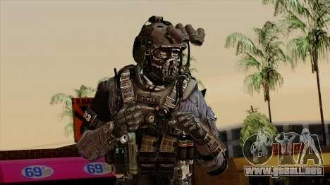 CoD Custom Ghost Retextured para GTA San Andreas