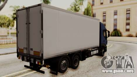 Iveco Truck from ETS 2 para GTA San Andreas left