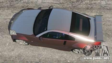 GTA 5 Nissan 350Z vista trasera