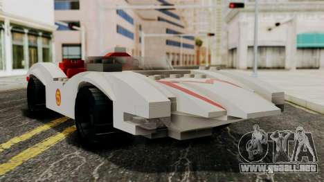 Lego Mach 5 para GTA San Andreas