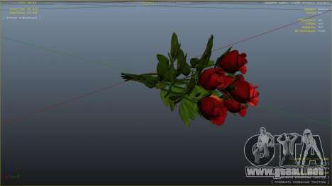 Un ramo de flores para GTA 5