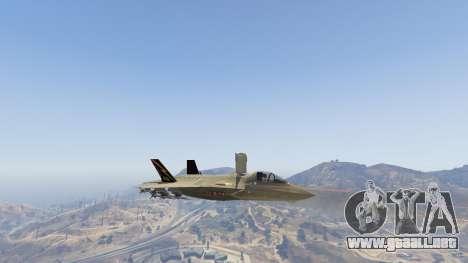 GTA 5 F-35B Lightning II (VTOL) noveno captura de pantalla