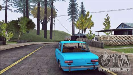 VAZ 2101 Resto para GTA San Andreas vista posterior izquierda