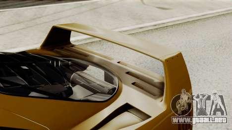 Ferrari F40 1987 HQLM para visión interna GTA San Andreas
