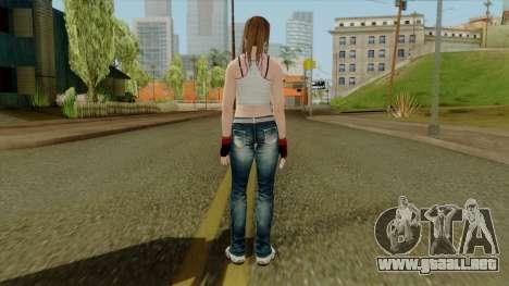 Dead Or Alive 5 Hitomi 1st Cos para GTA San Andreas tercera pantalla