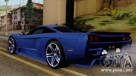 Saleen S7 para GTA San Andreas left