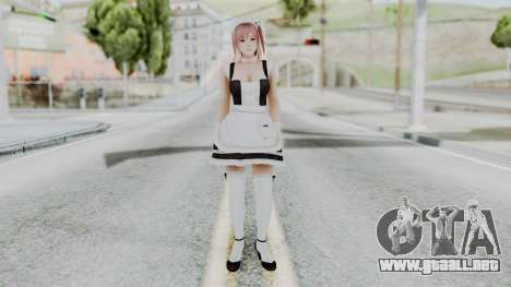DOA 5 Honoka Maid para GTA San Andreas segunda pantalla