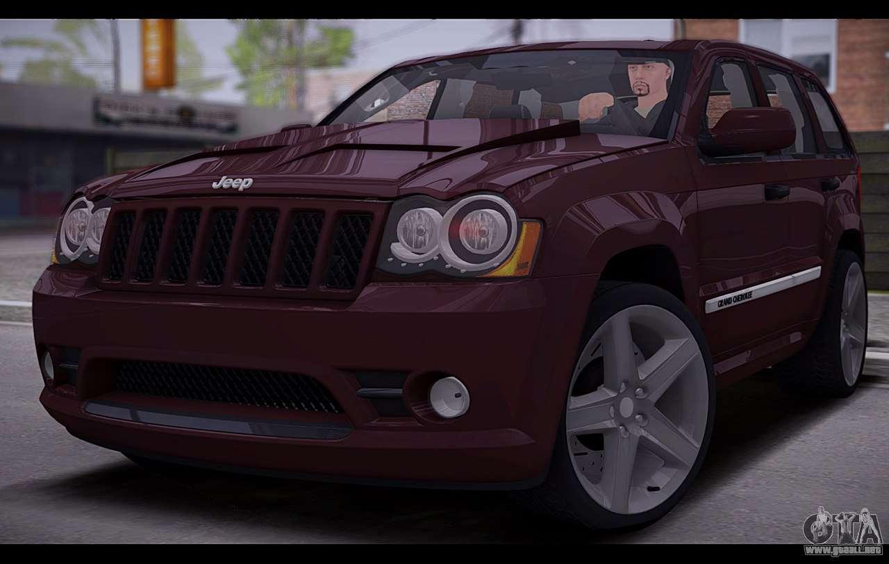 jeep grand cherokee srt8 2008 para gta san andreas. Black Bedroom Furniture Sets. Home Design Ideas