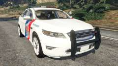 Ford Taurus State Troopers San Andreas