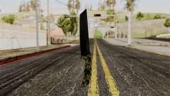 Nuevo camuflaje cuchillo para GTA San Andreas