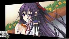 Pantallas de carga en estilo anime para GTA 5