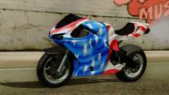 Bati America Motorcycle para GTA San Andreas