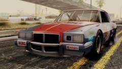 Pontiac GranPrix Hotring 1981 No Dirt para GTA San Andreas
