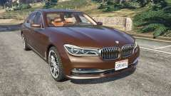 BMW 750Li 2016 v1.1 para GTA 5