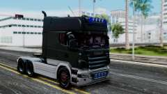 Scania R580 Longline Custom Showtruck 2008 para GTA San Andreas