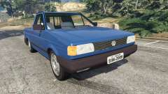 Volkswagen Saveiro 1.6 CLi para GTA 5