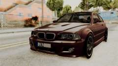 BMW M3 E46 2005 Stock para GTA San Andreas