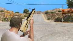 TAR-21 из Battlefield 4 para GTA 5