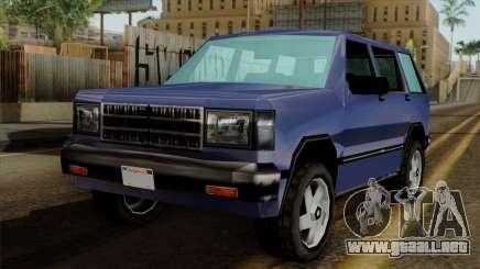 Landstalker from Vice City para GTA San Andreas