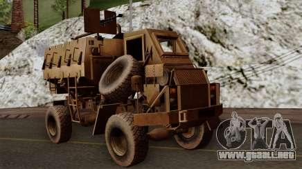 MRAP Buffel from CoD Black Ops 2 para GTA San Andreas