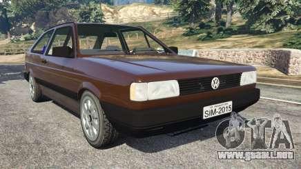 Volkswagen Gol GL 1.8 para GTA 5