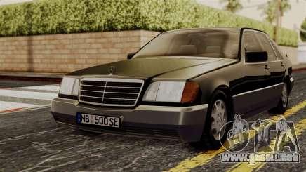 Mercedes-Benz W140 500SE 1992 para GTA San Andreas
