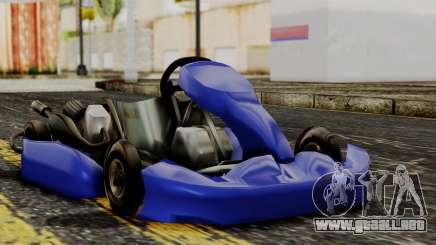 Crash Team Racing Kart para GTA San Andreas