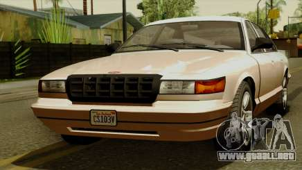 GTA 5 Vapid Stanier I para GTA San Andreas