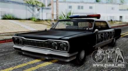 Police Savanna 2.0 para GTA San Andreas