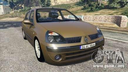 Renault Symbol 1.4L para GTA 5