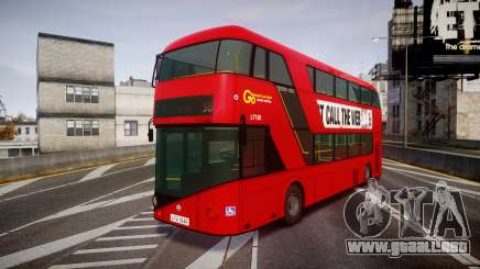 Wrightbus New Routemaster Go Ahead London para GTA 4
