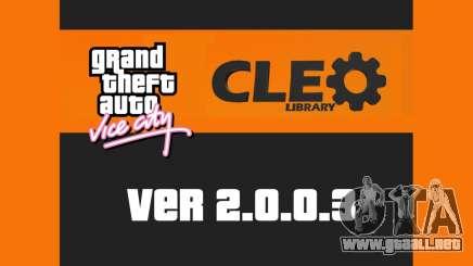 CLEO 2.0.0.3 para GTA Vice City