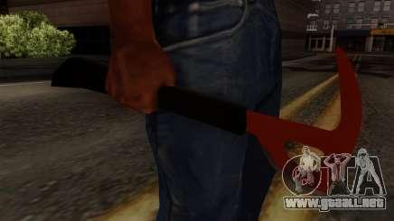 El hacha Del Bosque para GTA San Andreas