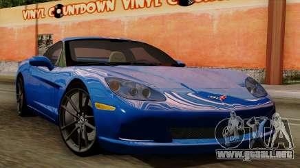 Chevrolet Corvette C6 para GTA San Andreas