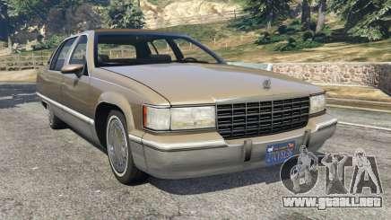 Cadillac Fleetwood 1993 para GTA 5