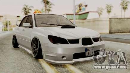 Subaru Impreza WRX STI HQ para GTA San Andreas