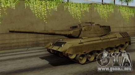Leopard 1A5 para GTA San Andreas