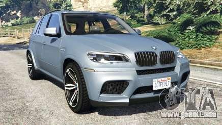 BMW X5 M (E70) 2013 v1.01 para GTA 5