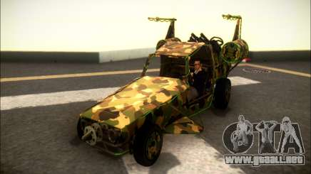 Camo Space Docker para GTA San Andreas
